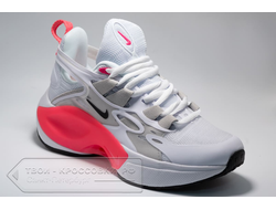 Кроссовки Nike Signal D/MS/X White/Coral Red женские арт. N870