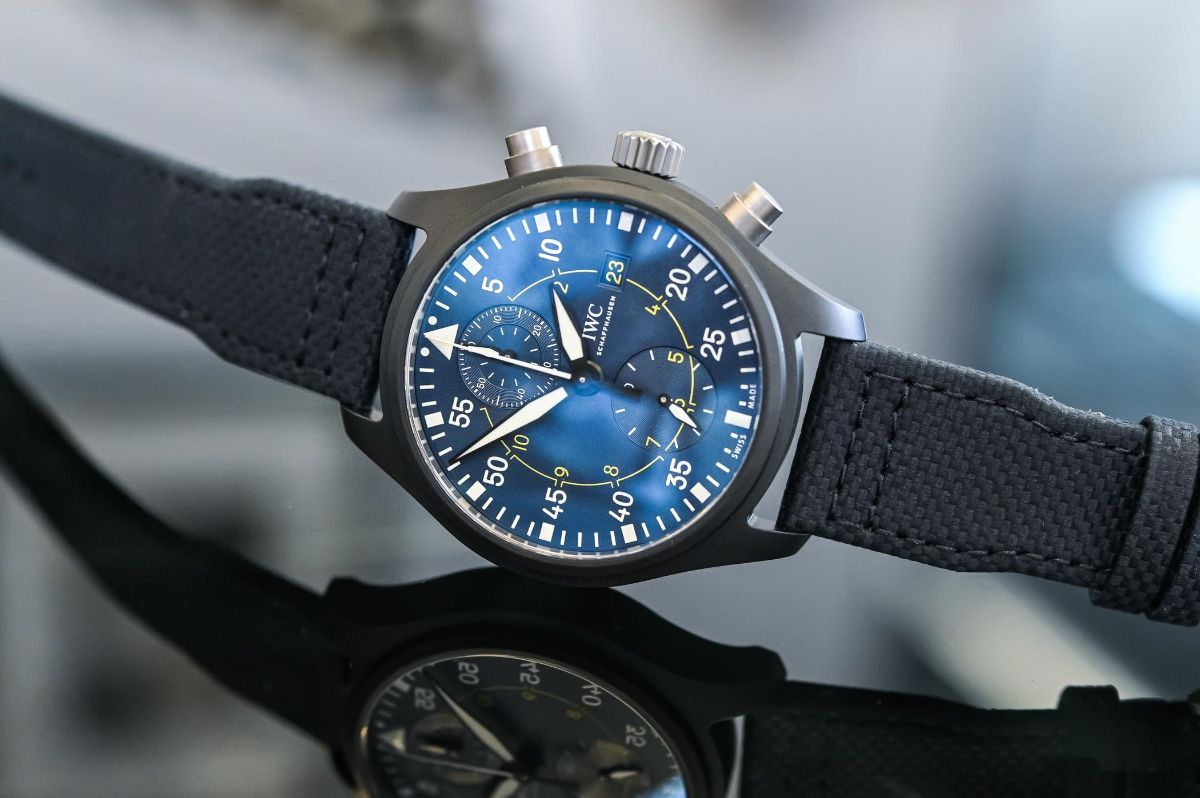 IWC Pilot's Watch Chronograph Edition «Blue Angels»