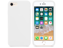iPhone 7 Silicone Case белый