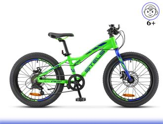 "Stels Pilot 270 MD 20""+ Fat Bike (Зеленый) Kiddy-Bikes"