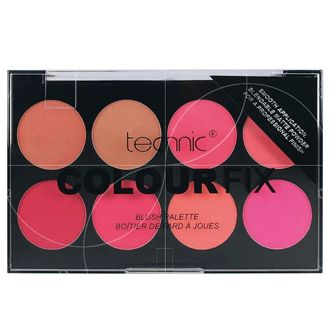 Палетка румян TECHNIC blush a joues  8X3,5г