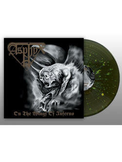 ASPHYX - On The Wings Of Inferno LP splatter