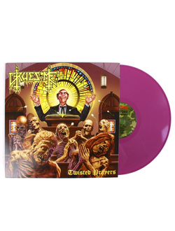 Gruesome - Twisted Prayers LP colored