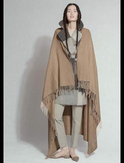 Плед из 100% шерсти верблюда коричневый  Erdenet