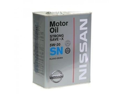 Масло моторное Nissan 5W-30 SN Strong Save X 4л