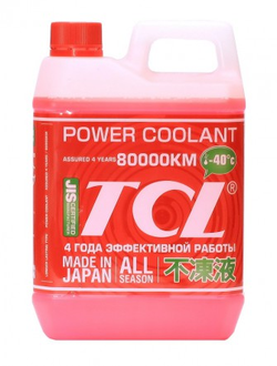 Антифриз TCL Power Coolant RED - 40 (2 л)