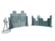 Armored defense walls (PAINTED)