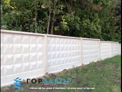 купить забор из бетона в москве