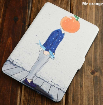 "Обложка для Kindle Paperwhite ""mr Orange"""