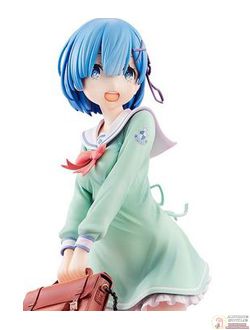 Фигурка 1/7 Рем (Rem High School Uniform Ver.)