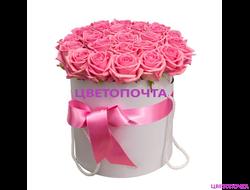 Цветы в шляпной коробке спб