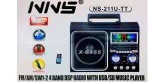 Бумбокс mp3 NNS NS-211U-TT