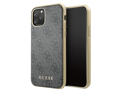Чехол Guess 4G Collection Hard для iPhone 11 Pro, серый
