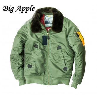 Куртка  B-15 Flight Jacket Sage / Sage