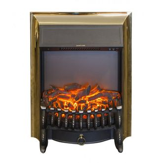 очаг Inter Flame Fobos fx brass