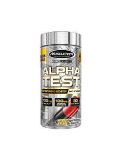 Тестобустер Muscletech Alpha Test 120 caps
