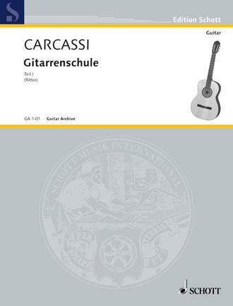 Carcassi Complete Guitar Method Teil 1