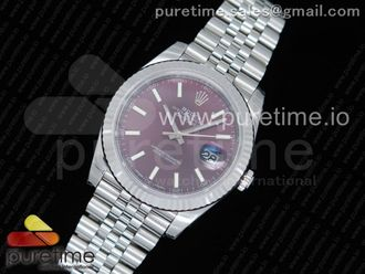 DateJust 41 126334 SS REF 1:1 Best Edition Red Dial