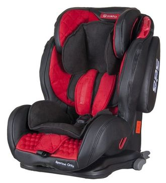 Coletto Sportivo Only IsoFix Red