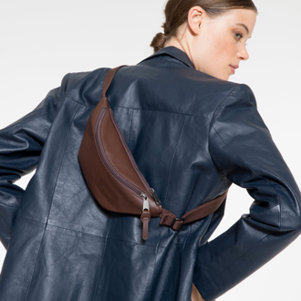 Сумка на пояс Eastpak Springer Chestnut Leather