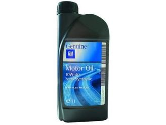 Моторное масло GM Motor Oil Semi Synthetic SAE 10W-40 (1л)