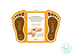 Пилинг для ног Mijin Soft Miracle Foot Peeling Pack