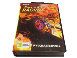Картридж для Sega Mega Drive Rock'n'Roll Racing