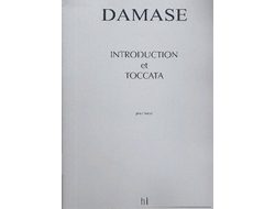 Damase  Introduction and toccata for Harp
