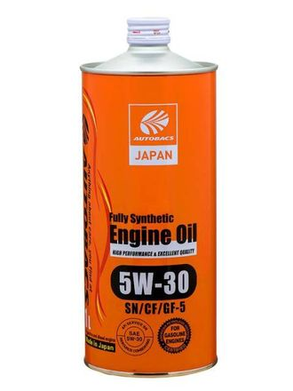 Масло моторное AUTOBACS ENGINE OIL FS 5W-30 1л A01508400