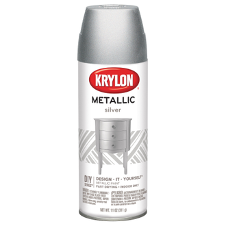 Krylon Brilliant Metallic Silver