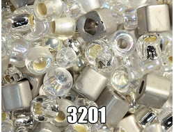 МИКС ТОХО 3201 TOHO Beads Mix Junpaku - Crystal/Silver
