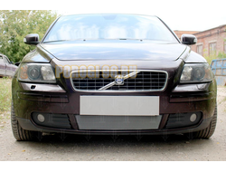 Защита радиатора Volvo S40 II 2003-2007 chrome