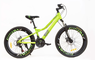 Велосипед HOGGER 24 GREEN Kiddy-bikes