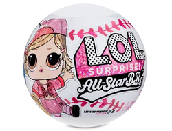 MGA Entertainment L.O.L Surprise All-Star B.B.s Sports Бейсболисты Команда Heart Breakers, 570370-red