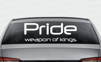 Pride Weapon Of Kings