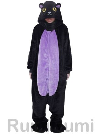 Пижама кигуруми Ночной кот купить по цене 2290 руб. 609e1d681fdeb