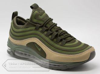 ba70dcaa Купить кроссовки Nike Air Max 97 мужские зеленые арт. N522 в СПб
