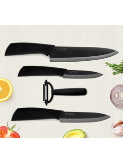 Набор ножей Xiaomi  Nano Ceramic Knife Set