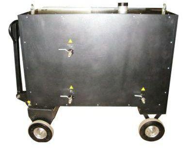 Мобильный электрический парогенератор для стройки