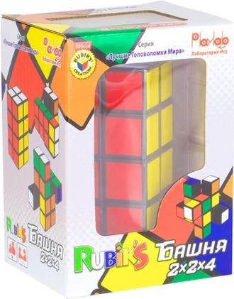 """Башня  Рубика 2*2*4 (Rubik's Tower)"