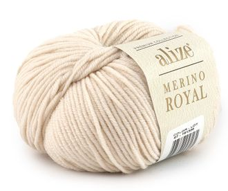 Alize Merino Royal 67 кремовый