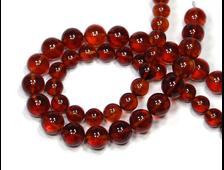 Бусина Янтарь натуральный, цвет Коньяк, Калининград, шар 10 мм №18240