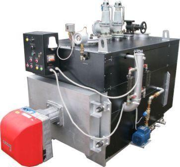 Газовый паровой котел 1000 кг пара