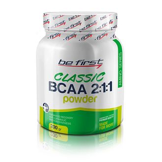 (Be First) BCAA 2:1:1 Classic Powder - (200 гр) - (экзотик)