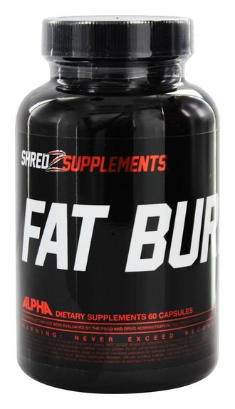 Жиросжигатель Fat Burner Shredz Supplements 60 capsules (СРОК ГОДНОСТИ...!)