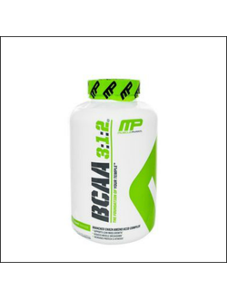 BCAA Muscle Pharm BCAA 3-1-2 240 caps