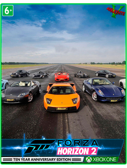 Forza Horizon 2 10th Anniversary Edition(XBOX ONE)