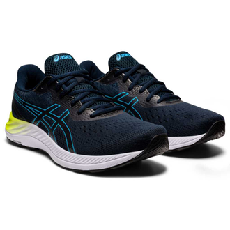 Кроссовки Мужские Asics GEL-EXCITE 8 FRENCH BLUE/DIGITAL AQUA 1011B036-401 в темно-синем цвете фото