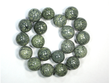 Бусина Змеевик, шар 18-19 мм (1 шт) №18907
