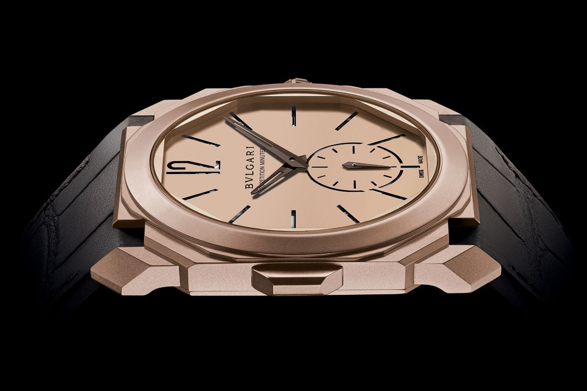 Bvlgari Octo Finissimo Minute Repeater Rose Gold